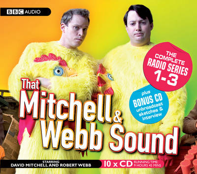 That Mitchell and Webb Sound: The Complete Radio Series 1-3 (CD-Audio)