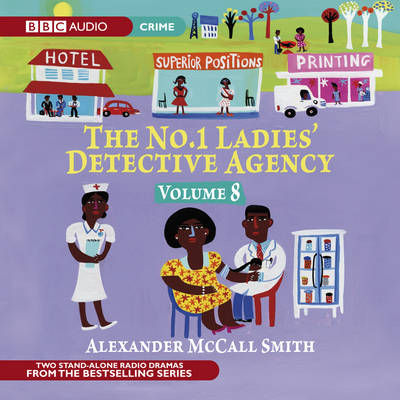 The No. 1 Ladies' Detective Agency: Very Rude Woman and Talking Shoes v. 8 (CD-Audio)