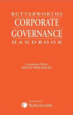 Butterworths Corporate Governance Handbook (Paperback)