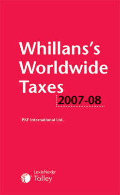Whillans's Worldwide Taxes 2007-08 (Paperback)