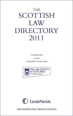 The Scottish Law Directory: The White Book 2011 (Hardback)