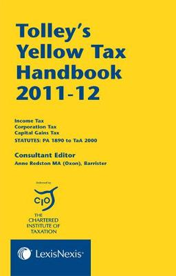 Tolley's Yellow Tax Handbook 2011-12 (Paperback)