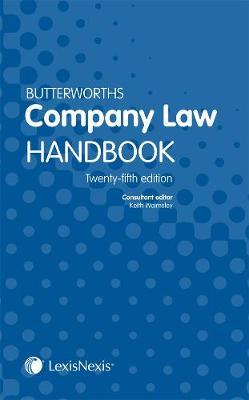 Butterworths Company Law Handbook (Paperback)