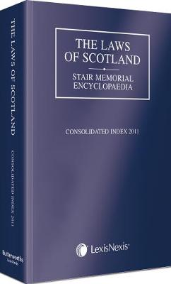The Laws of Scotland: Consolidated Index 2011 (Paperback)