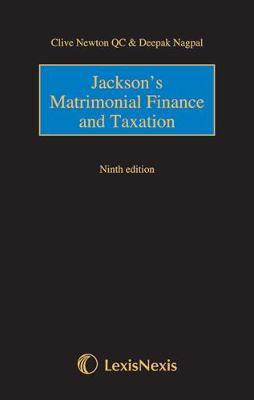 Jackson's Matrimonial Finance (Hardback)