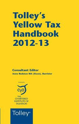 Tolley's Yellow Tax Handbook 2012-13 (Paperback)