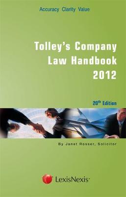 Tolley's Company Law Handbook (Paperback)