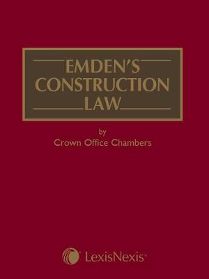 Emden's Construction Law by Crown Office Chambers