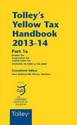 Tolley's Yellow Tax Handbook 2013-14 (Paperback)