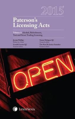 Paterson's Licensing Acts 2015