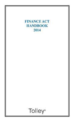 Finance Act Handbook 2014 (Paperback)