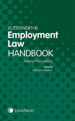 Butterworths Employment Law Handbook (Paperback)
