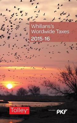 Whillans's Worldwide Taxes 2015-16 (Paperback)
