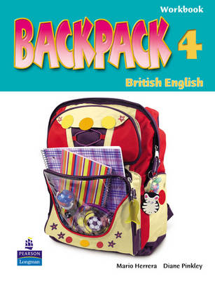 Backpack Spain 4 WBk/CD-ROM Pack - Backpack