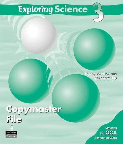 Exploring Science Copymaster File 3 - EXPLORING SCIENCE