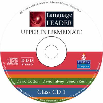 Language Leader Upper Intermediate Class CDs - Language Leader (CD-Audio)