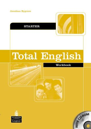 Total English Starter Workbook without Key and CD-Rom Pack - Total English