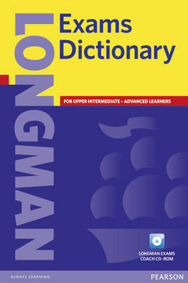 Longman Exams Dictionary Paper and CD ROM Update - L Exams Dictionary