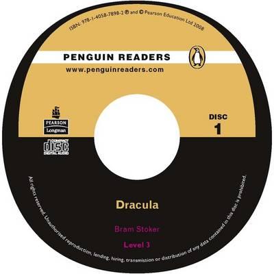"""Dracula"" CD for Pack: Level 3 - Penguin Readers (Graded Readers) (CD-Audio)"
