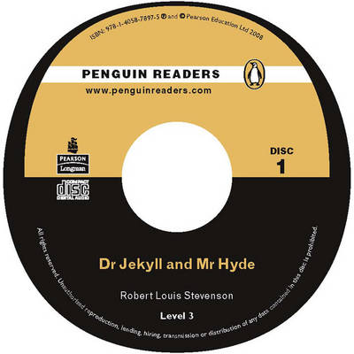 """""""Dr Jekyll and Mr Hyde"""" CD for Pack: Level 3 - Penguin Readers (Graded Readers) (CD-Audio)"""
