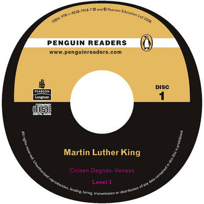 Martin Luther King CD for Pack: Level 3 - Penguin Readers (Graded Readers) (CD-Audio)