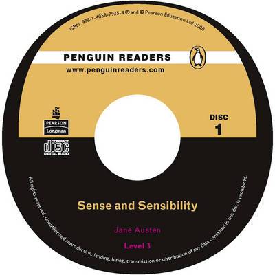 """Sense and Sensibility"" CD for Pack: Level 3 - Penguin Readers (Graded Readers) (CD-Audio)"
