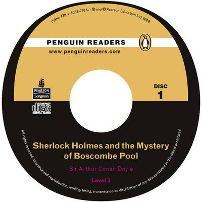 """Sherlock Holmes and the Mystery of Boscombe Pool"" CD for Pack: Level 3 - Penguin Readers (Graded Readers) (CD-Audio)"
