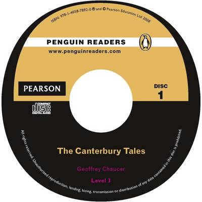 """""""The Canterbury Tales"""" CD for Pack: Level 3 - Penguin Readers (Graded Readers) (CD-Audio)"""