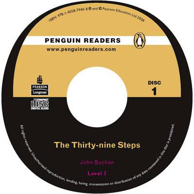 The Thirty-nine Steps CD for Pack: Level 3 - Penguin Readers (Graded Readers) (CD-Audio)
