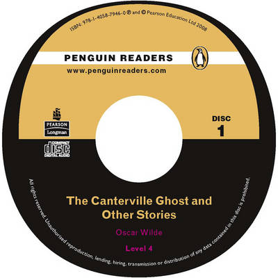 """""""The Canterville Ghost"""" and Other Stories CD for Pack: Level 4 - Penguin Readers (Graded Readers) (CD-Audio)"""