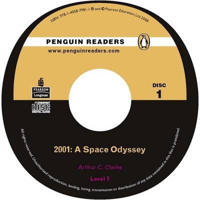 2001: Level 5: A Space Odyssey - Penguin Readers (Graded Readers) (CD-Audio)