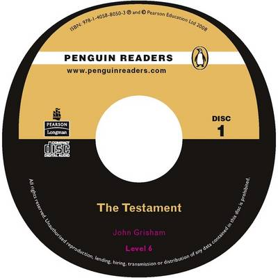"""The Testament"": Level 6 - Penguin Readers (Graded Readers) (CD-Audio)"
