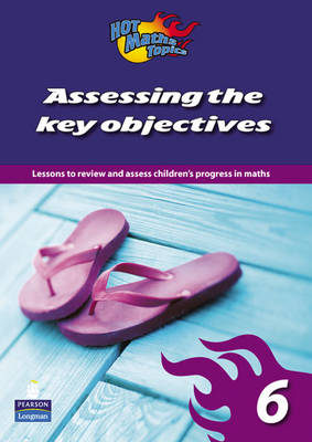 Hot Maths Topics: Assessing the Key Objectives 6 - Hot Maths Topics Key Objectives (Paperback)