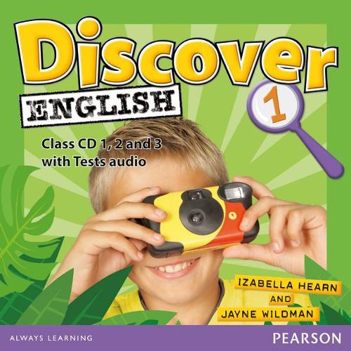 Discover English Global 1 Class CDs - Discover English (CD-Audio)