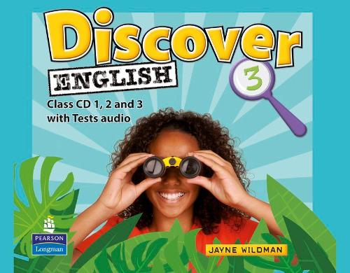 Discover English Global 3 Class CDs - Discover English (CD-Audio)
