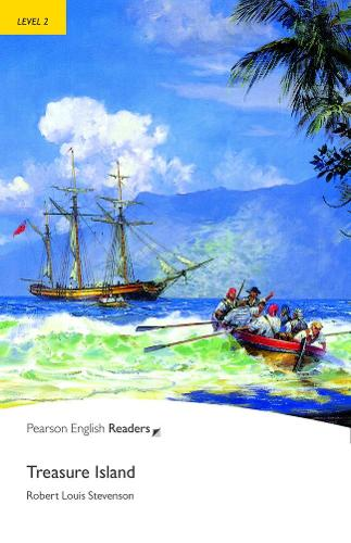 Level 2: Treasure Island - Pearson English Graded Readers (Paperback)