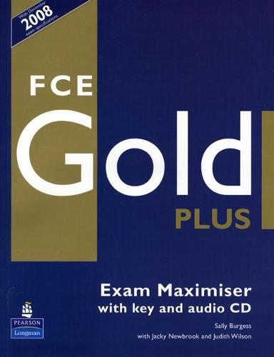 FCE Gold Plus Maximiser and CD and Key Pack - Gold