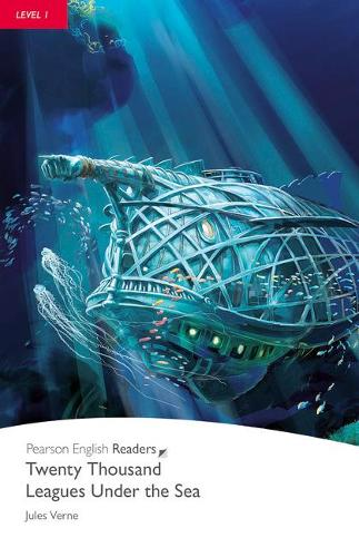 Level 1: 20,000 Leagues Under the Sea Book and CD Pack - Pearson English Graded Readers