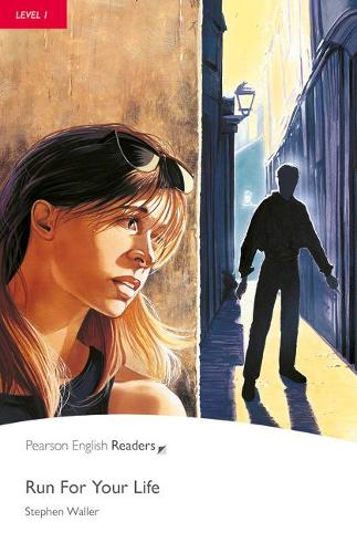 Level 1: Run For Your Life Book and CD Pack - Pearson English Graded Readers