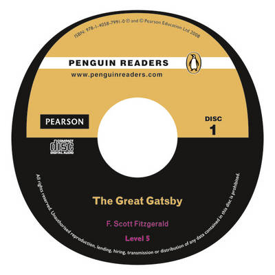 """""""The Great Gatsby"""" Book/CD Pack: Level 5 - Penguin Readers (Graded Readers)"""