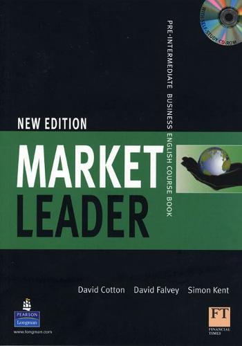 Market leader Pre-Intermediate Coursebook/Multi-Rom Pack - Market Leader