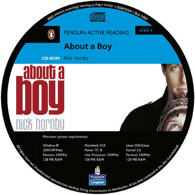 About a Boy: Level 4 - Penguin Active Reading (Graded Readers) (CD-ROM)