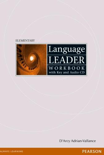 Language Leader Elementary Workbook with key and Audio CD pack - Language Leader