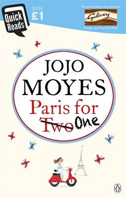 Cover of the book, Paris for One.