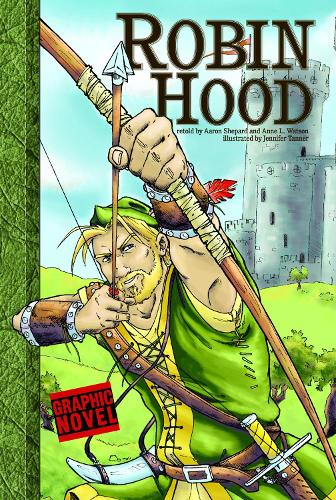 Robin Hood - Graphic Fiction: Graphic Revolve (Paperback)