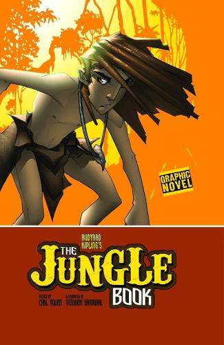 The Jungle Book - Graphic Fiction: Graphic Revolve (Paperback)