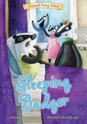 Sleeping Badger - Animal Fairy Tales (Big book)