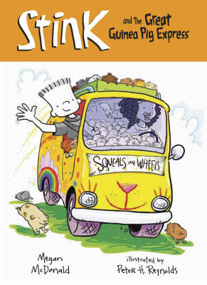 Stink and the Great Guinea Pig Express (Paperback)