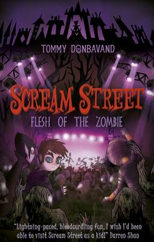 Scream Street 4: Flesh of the Zombie - Scream Street (Paperback)