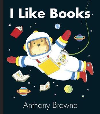 I Like Books (Board book)
